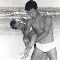 Ke Hyung No and Dick Robinson 1967